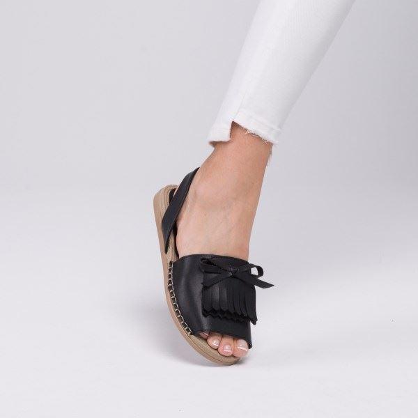 Allecra Sandalet Siyah