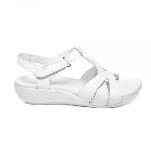 Maximo Ortopedik Sandalet Beyaz