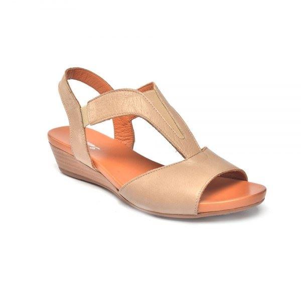 Marua Ortopedik Sandalet Kum