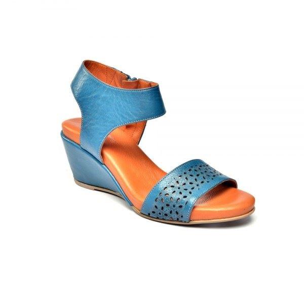 Rachele Ortopedik Sandalet Mavi