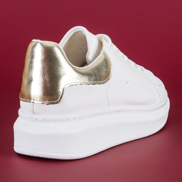 Alese Spor Ayakkabı Beyaz Dore