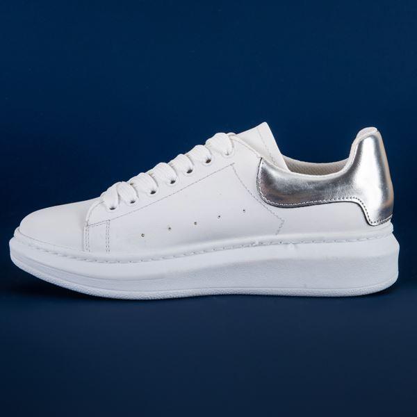 Alese Spor Ayakkabı Beyaz Lame