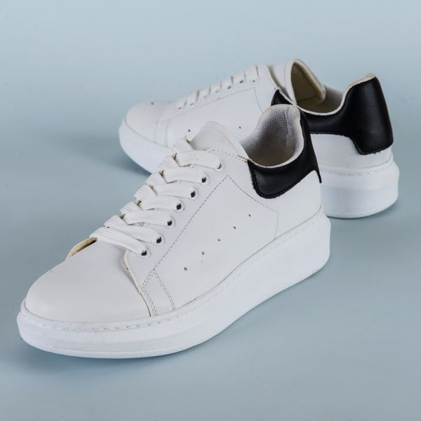 Alese Spor Ayakkabı Beyaz Siyah