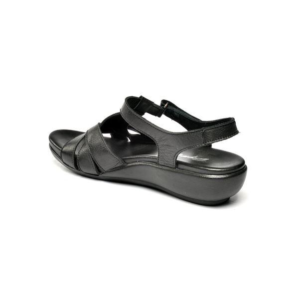 Maximo Ortopedik Sandalet Siyah