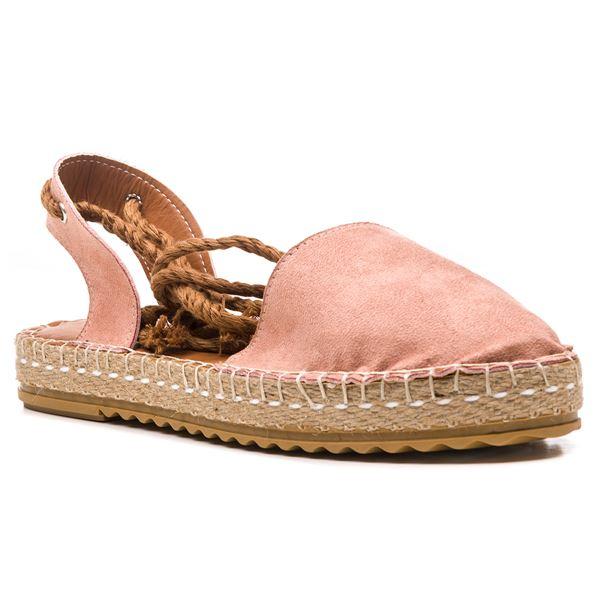 Terza Kadın Ayakkabı Pudra Süet