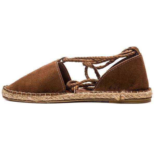 Pio Kadın Ayakkabı Taba Süet