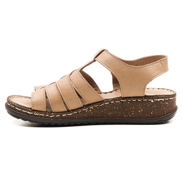 Denisa Kadın Sandalet Kum