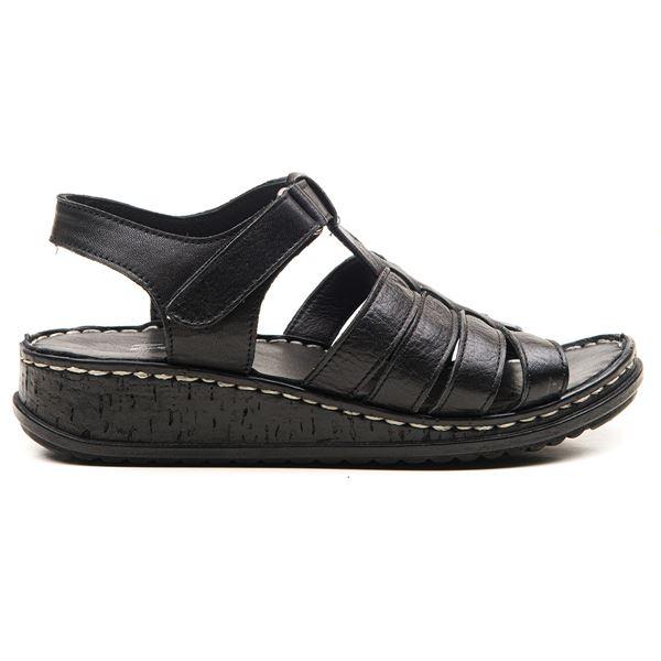 Denisa Kadın Sandalet Siyah