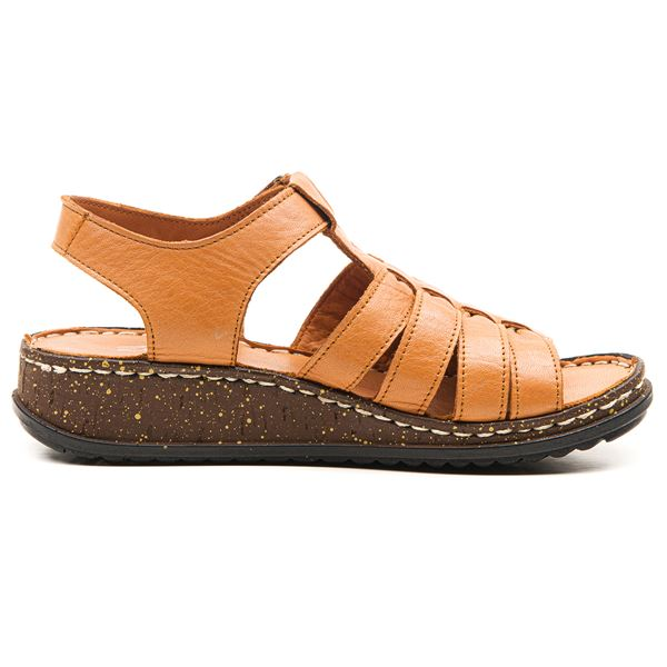 Denisa Kadın Sandalet Taba