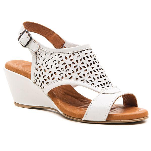 Fermina Kadın Sandalet Beyaz
