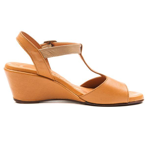 Senalda Kadın Sandalet Taba-Kum