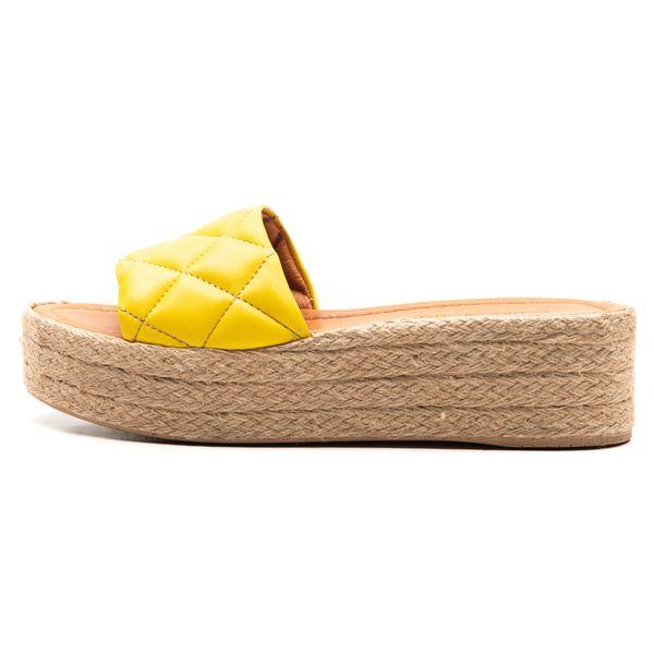 Eloy Kadın Terlik Sarı