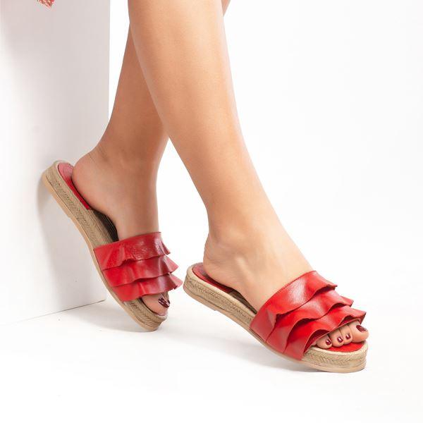 Sarita Kadın Terlik Kırmızı