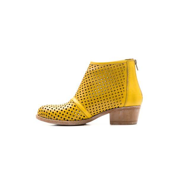 Fausto Kadın Yazlık Bot Sarı