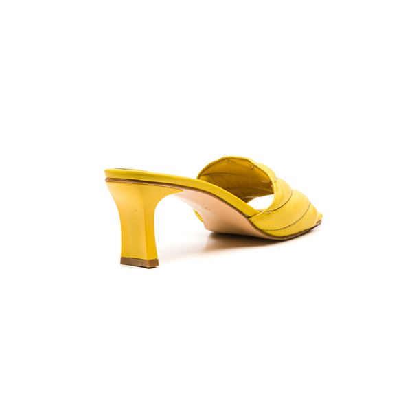 Cirilo Kadın Deri Terlik Sarı