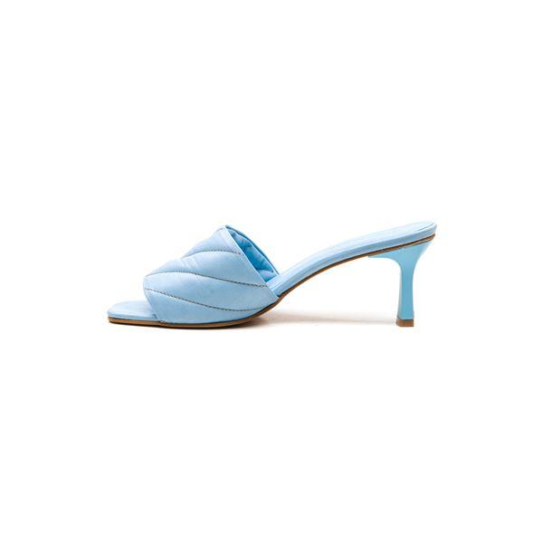 Cirilo Kadın Deri Terlik Mavi