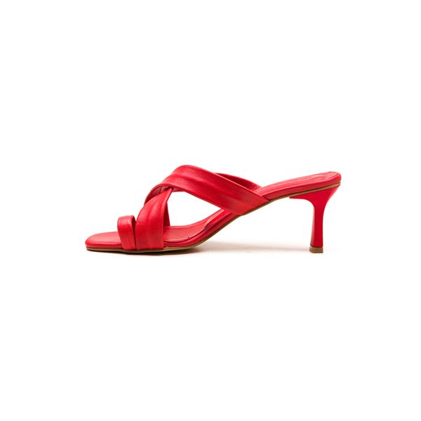 Gervasio Kadın Deri Terlik Kırmızı