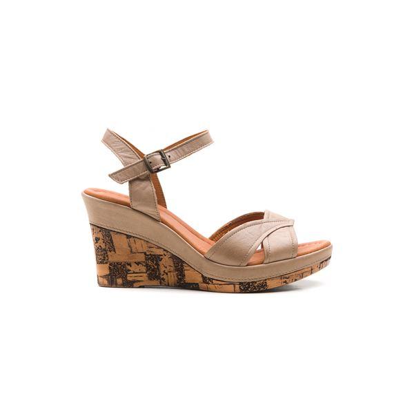 Riccarda Ortopedik Sandalet Kum