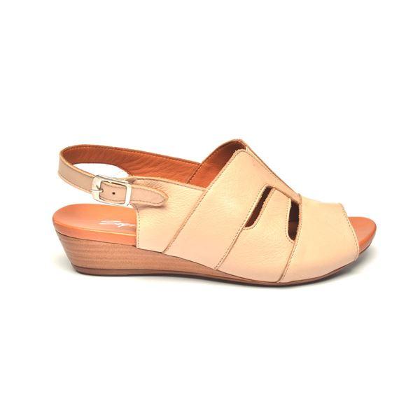 Blanco Kadın Deri Sandalet Bej