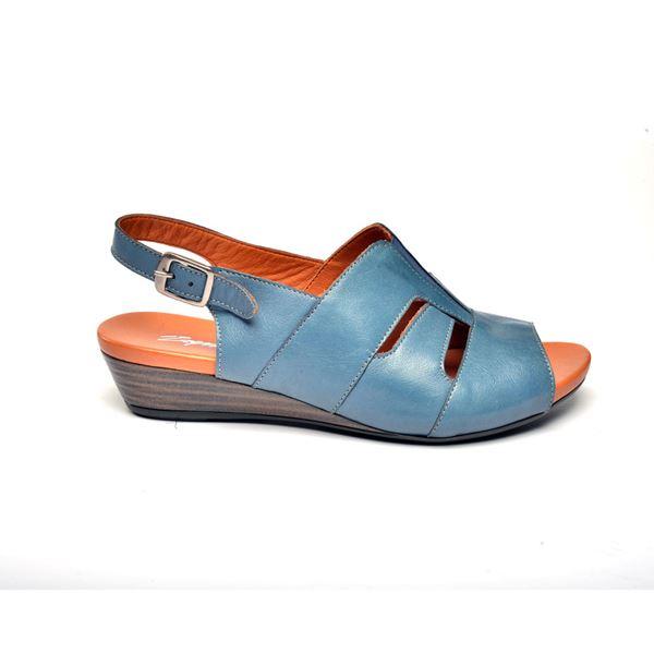 Blanco Kadın Deri Sandalet Mavi