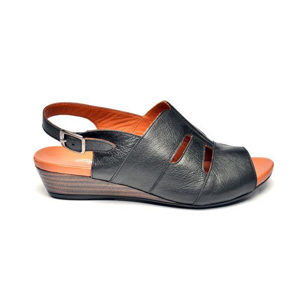 Blanco Kadın Deri Sandalet Siyah