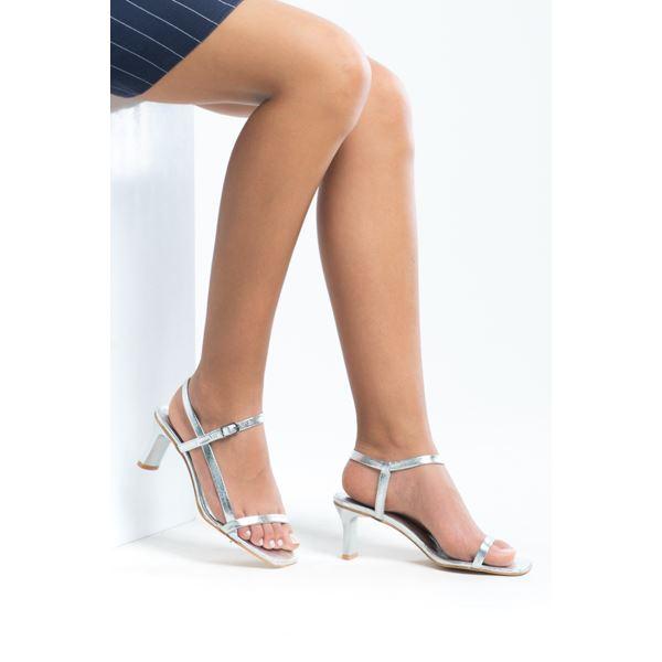 Alpha Kadın Deri Sandalet Lame