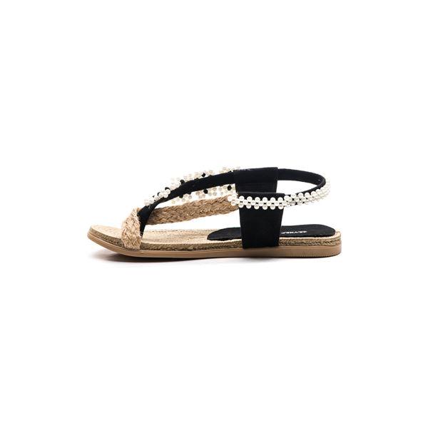 Senona Kadın Sandalet Siyah Süet