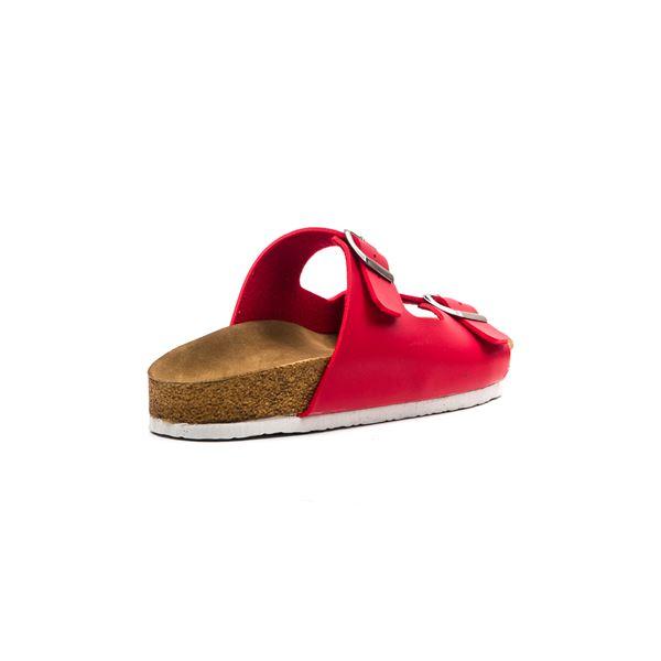 Yensia Kadın Terlik Kırmızı