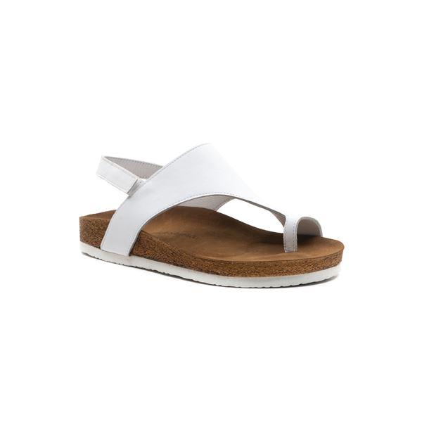Birisa Kadın Sandalet Beyaz