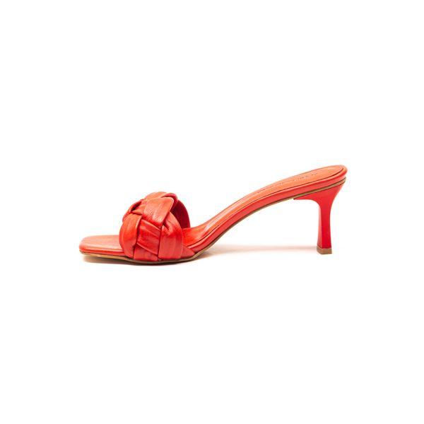 Evarado Kadın Deri Terlik Kırmızı