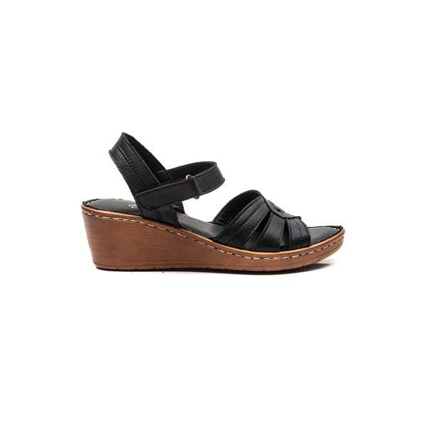 Sancha Kadın Deri Sandalet Siyah