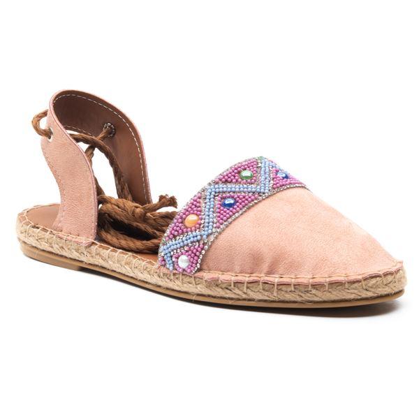Niconar Kadın Ayakkabı Pudra Süet