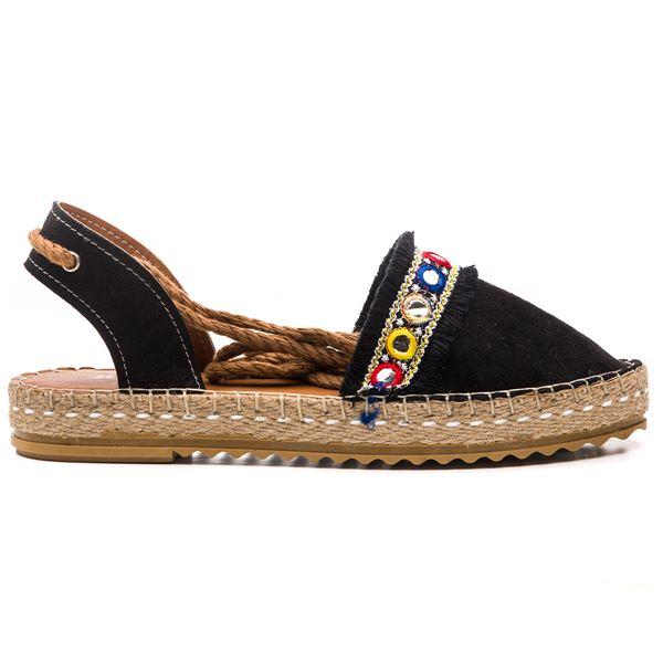 Arnaldo Kadın Ayakkabı Siyah Süet