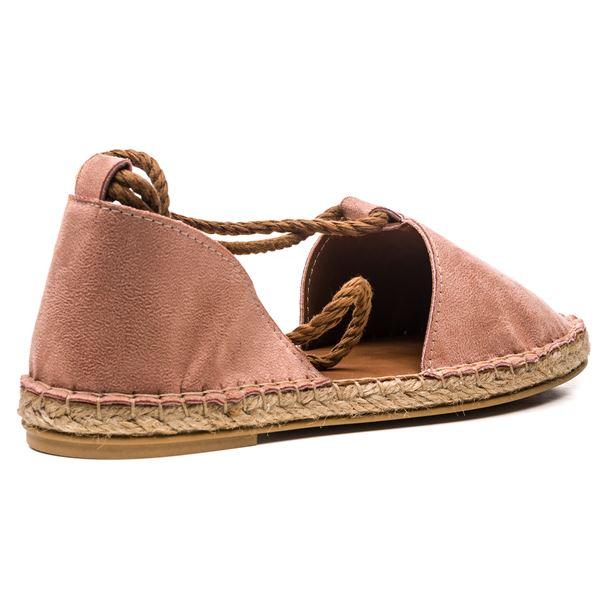 Pio Kadın Ayakkabı Pudra Süet