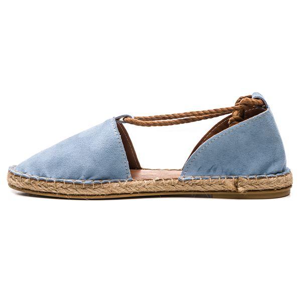 Pio Kadın Ayakkabı Mavi Süet