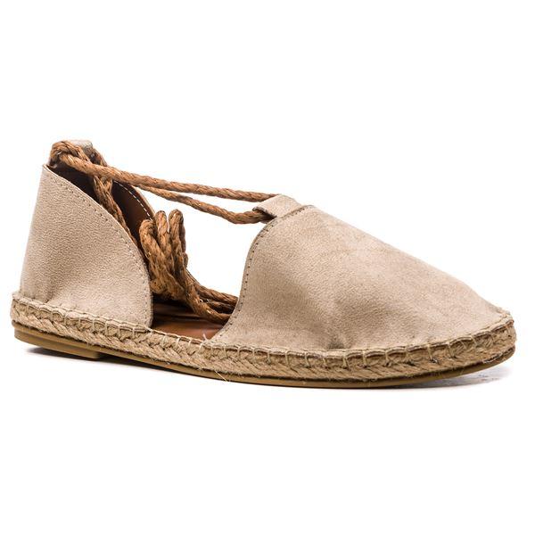 Pio Kadın Ayakkabı Bej Süet