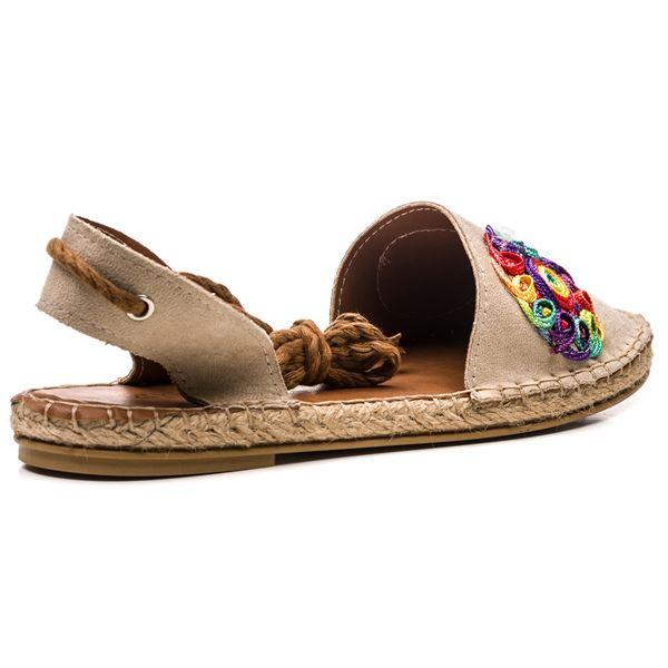 Fabio Kadın Ayakkabı Bej Süet