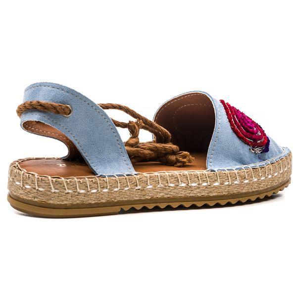 Esta Kadın Ayakkabı Mavi Süet