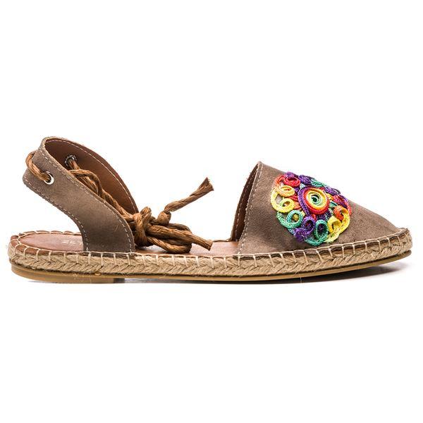 Fabio Kadın Ayakkabı Vizon Süet