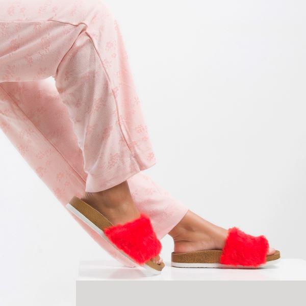Yelena Kadın Terlik Kırmızı