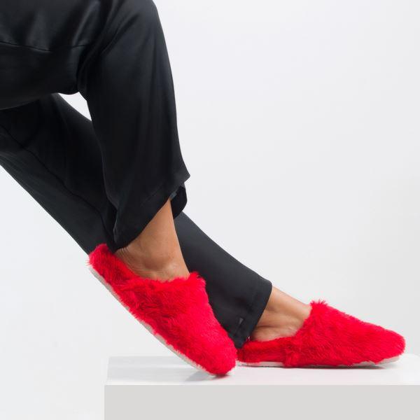 Noris Kadın Terlik Kırmızı