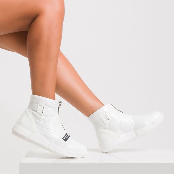 Ararinda Kadın Spor Bot Beyaz Rugan