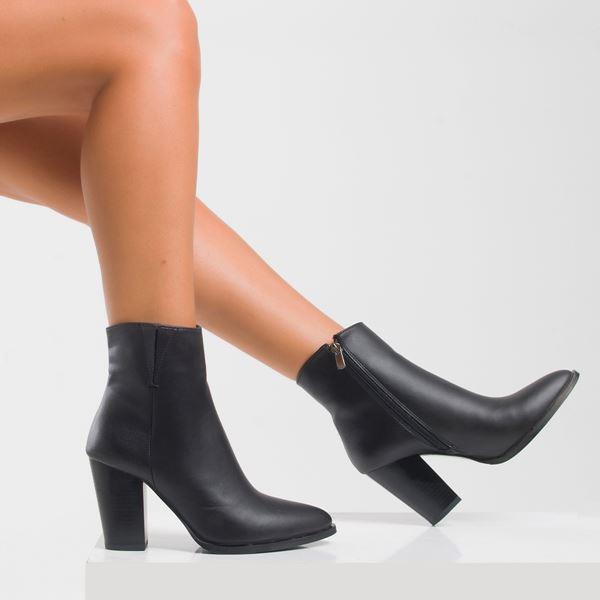Lupita Kadın Bot Siyah