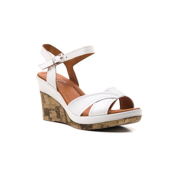 Riccarda Ortopedik Sandalet Beyaz