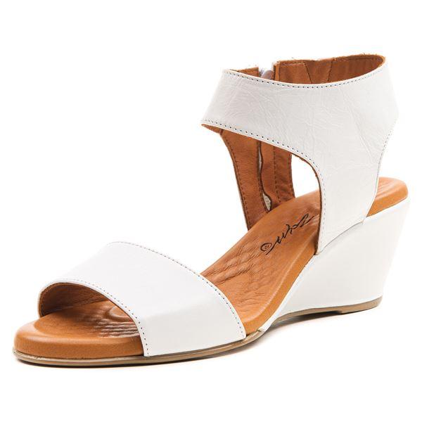 Pietra Ortopedik Sandalet Beyaz