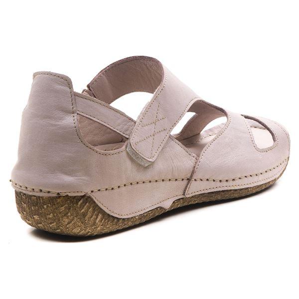 Alanna Kadın Deri Sandalet Buz