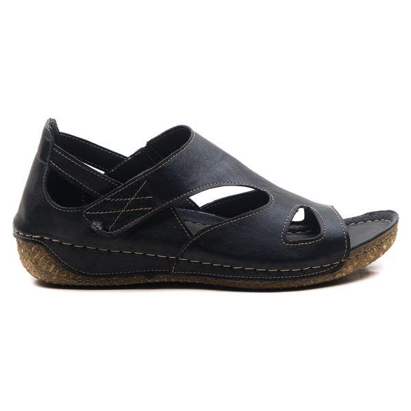 Alanna Kadın Deri Sandalet Siyah