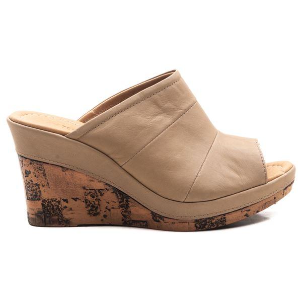Aryanna Kadın Dolgu Topuk Sandalet Kum