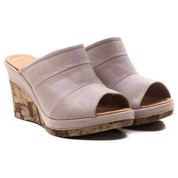 Aryanna Kadın Dolgu Topuk Sandalet Buz