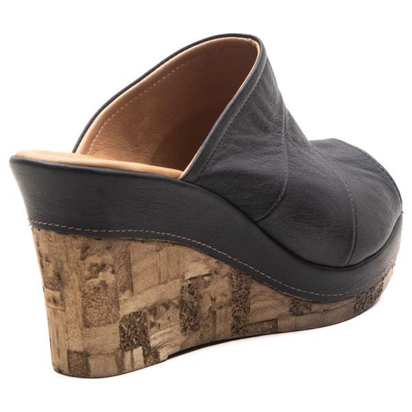 Aryanna Kadın Dolgu Topuk Sandalet Siyah